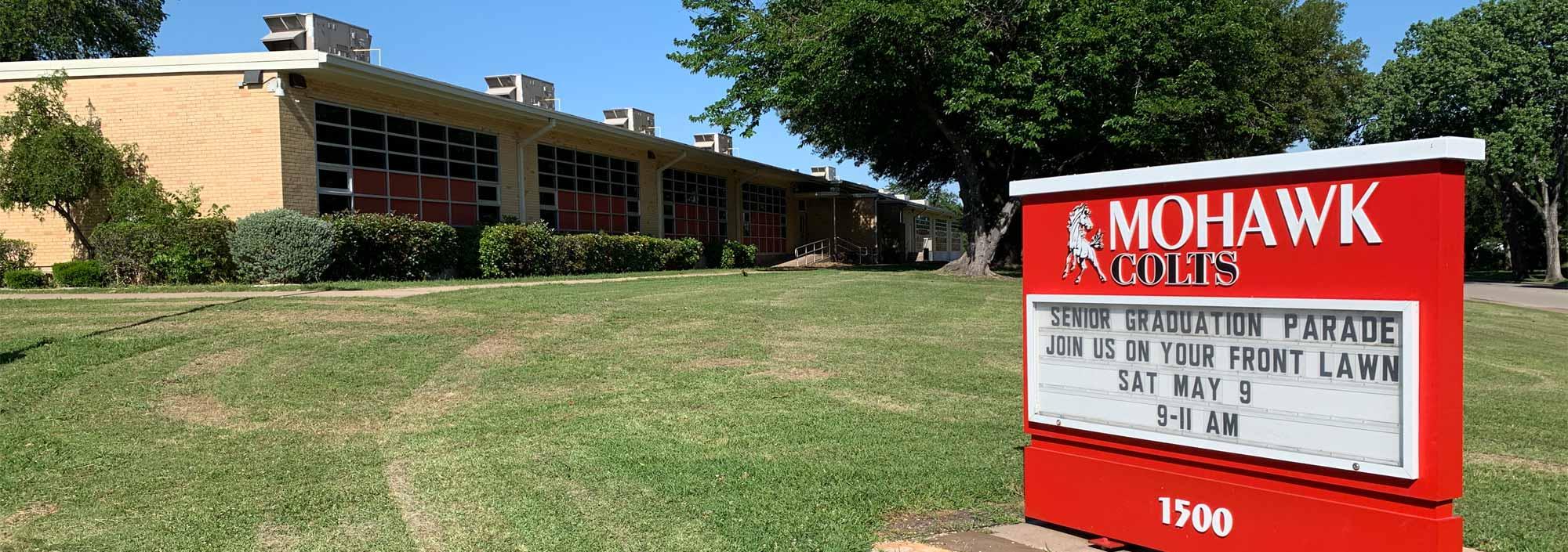 Mohawk Elementary sign