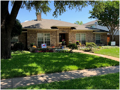 JJ Pearce HOA Yard of the Month Winner - June 2020