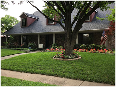 JJ Pearce HOA Yard of the Month Winner - May 2020