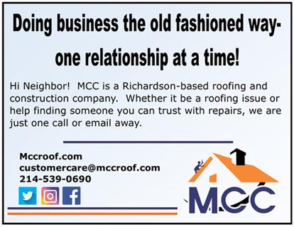 MCC Roof Ad - April 17, 2020