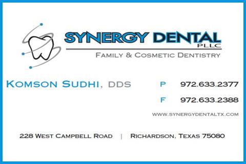 Synergy Dental Ad - April 21, 2021