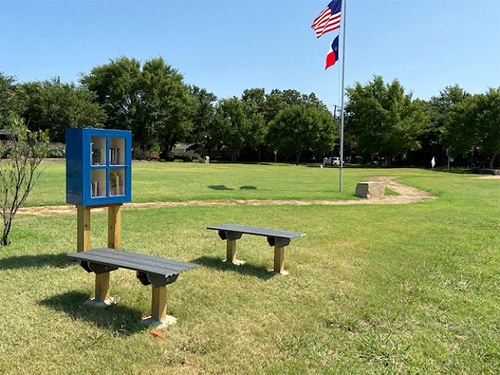 JJ Pearce Park - 2021 Little Free Library Eagle Scout Project